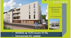 Nieuwbouwappartementen Laakdal