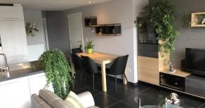 Meerhout : appartement met 1 slaapkamer, groot terras
