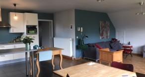 Meerhout : Ruim appartement met drie slaapkamers en tuin